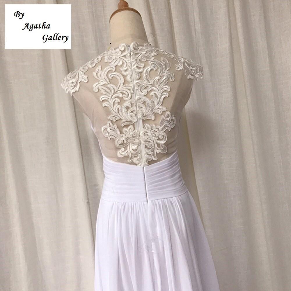 Svadobné šaty - EU 36/38 - skladom - Obrázok č. 3