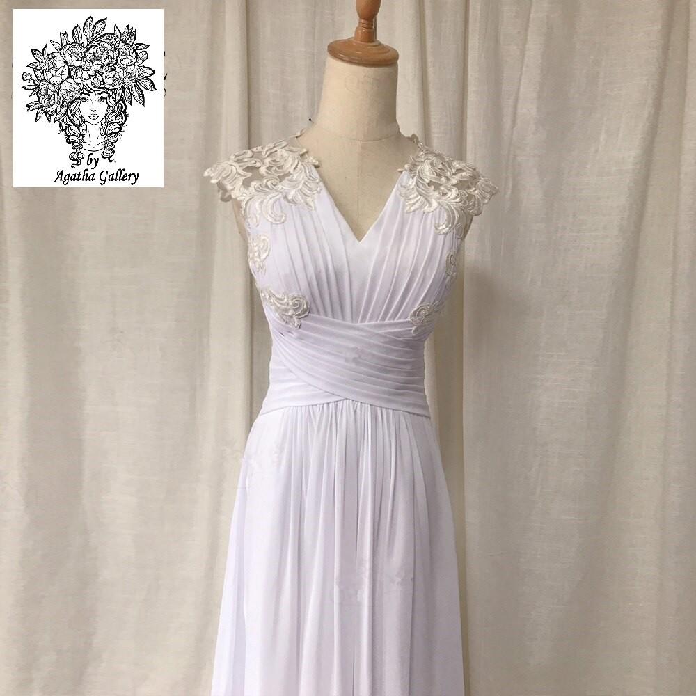Svadobné šaty - EU 36/38 - skladom - Obrázok č. 4