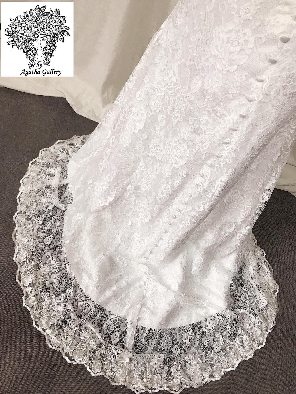 Svadobné šaty skladom - EU36/38 - Obrázok č. 2