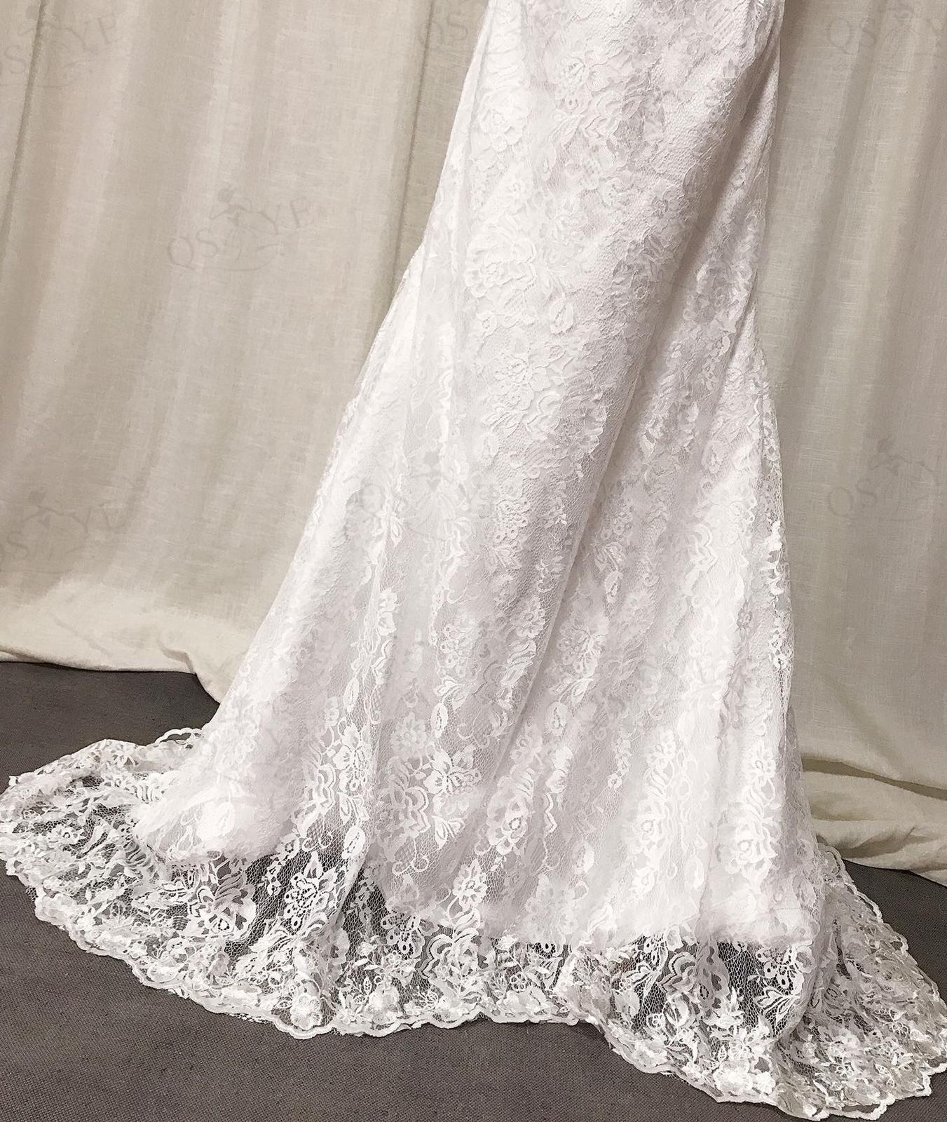 Svadobné šaty skladom - EU36/38 - Obrázok č. 3