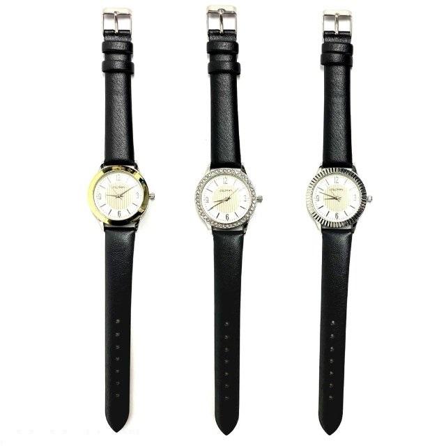 Dámske hodinky zn. Steltman 3v1-1 hodinky+3krúžky - Obrázok č. 1