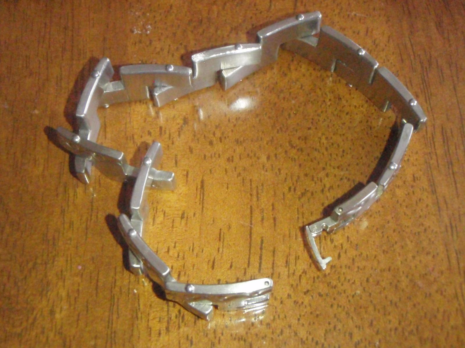 Ocelovy sperk na ruku- pre pana, vhodny ako dar - Obrázok č. 2