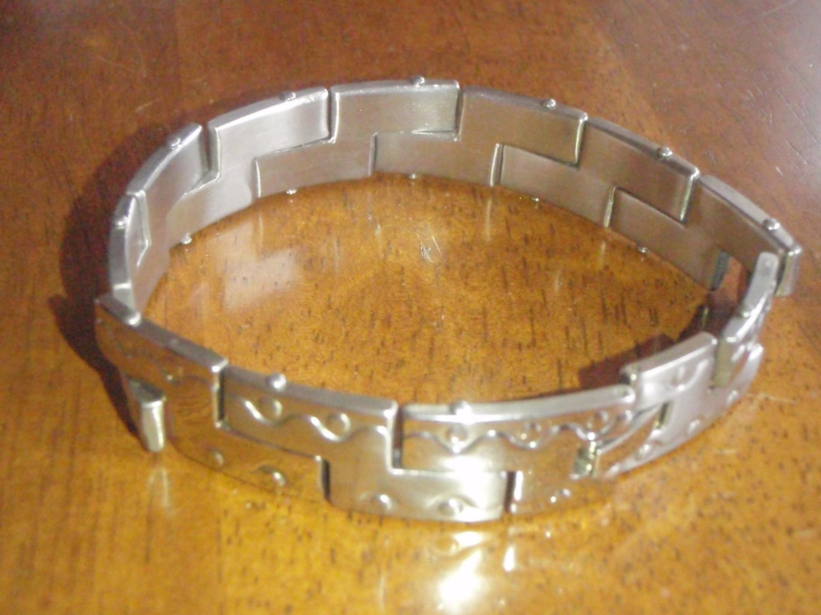 Ocelovy sperk na ruku- pre pana, vhodny ako dar - Obrázok č. 4