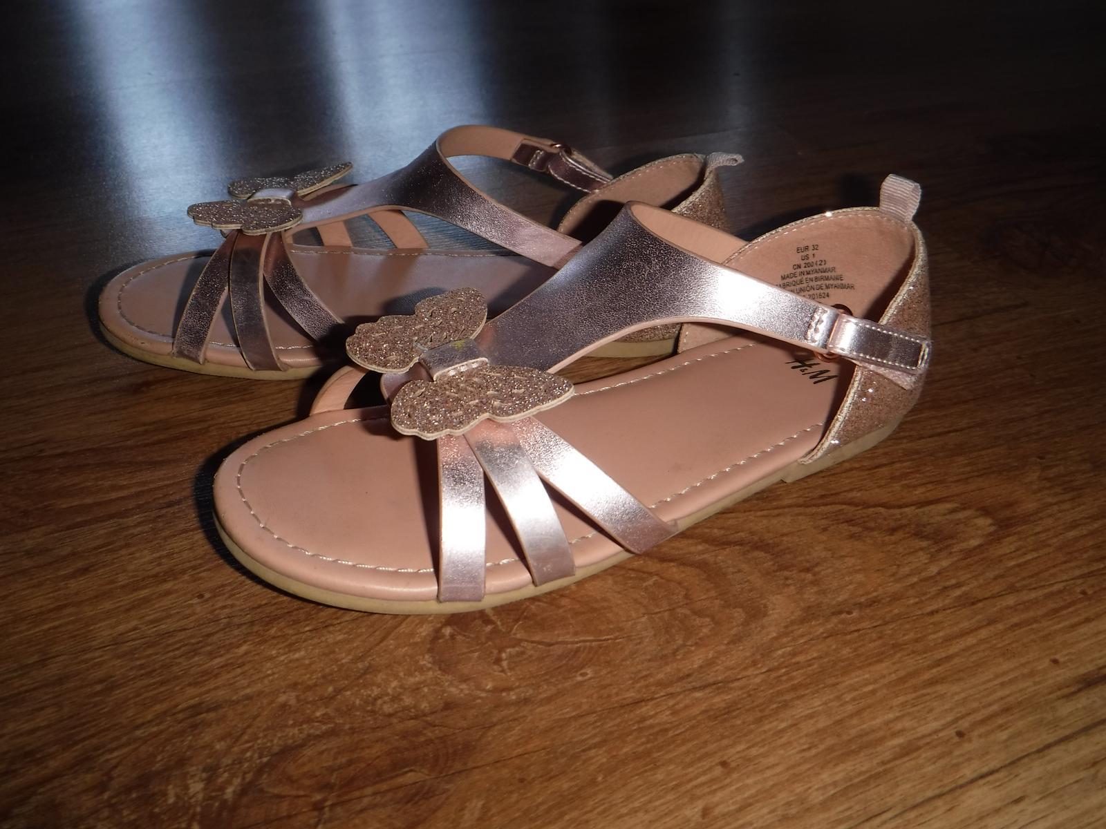 Sandale h&m - Obrázok č. 1