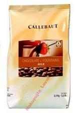 Objednáno 2,5 kg úžasné belgické čokolády Callebaut. Drahá, ale prej to stojí za to.