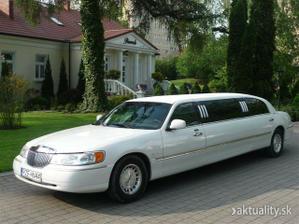 biela limuzína - rezervovaná.....teším sa :)))