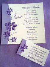 naše oznámenia s pozvánkou :)