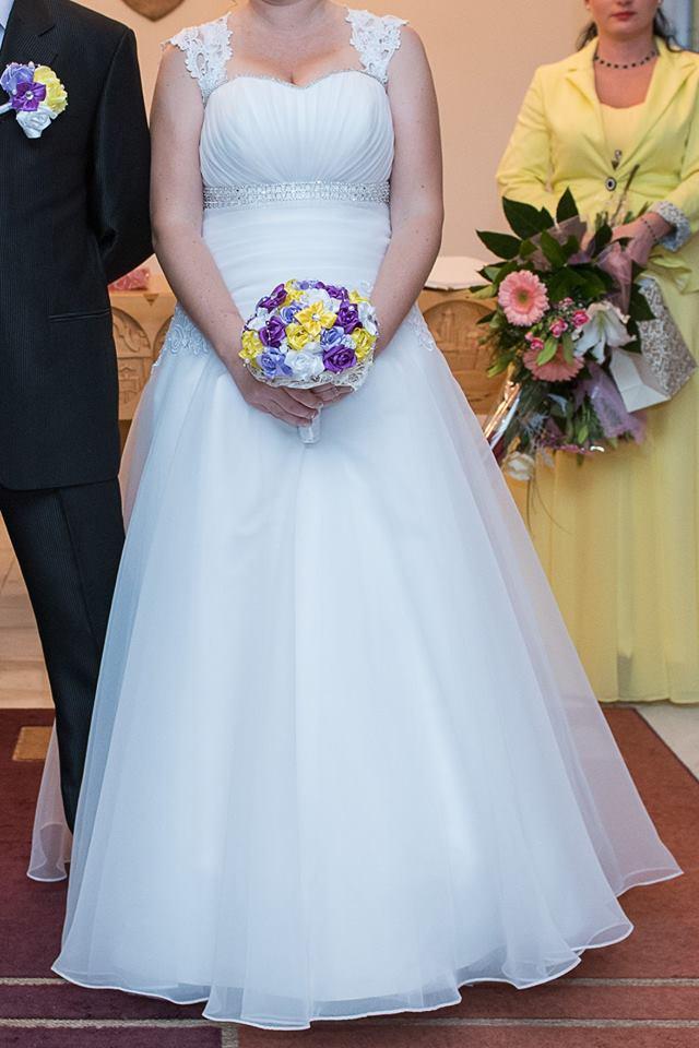 Svadobné šaty vhodné aj pre tehotnú 42  - Obrázok č. 3