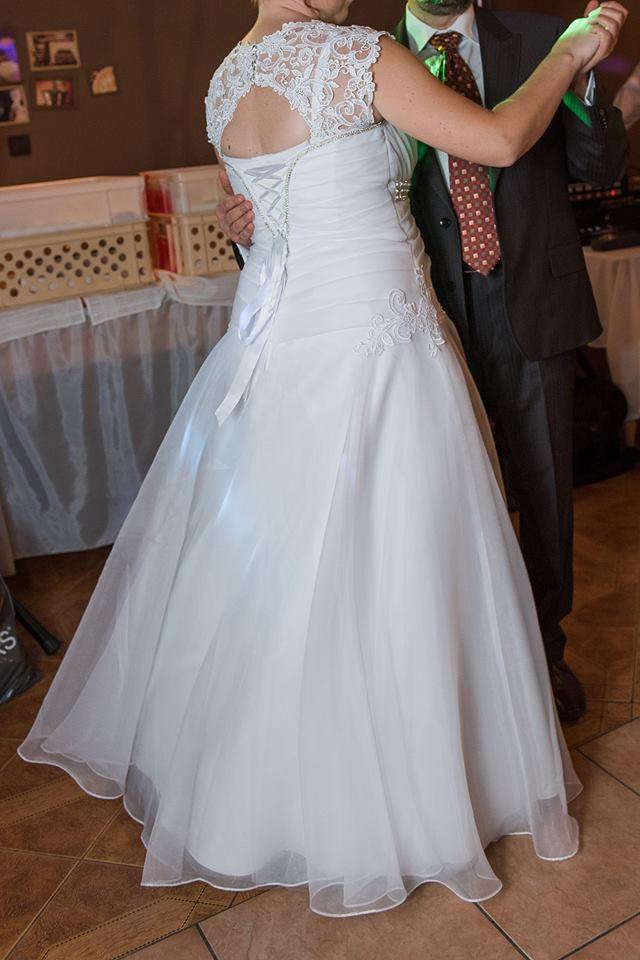 Svadobné šaty vhodné aj pre tehotnú 42  - Obrázok č. 2