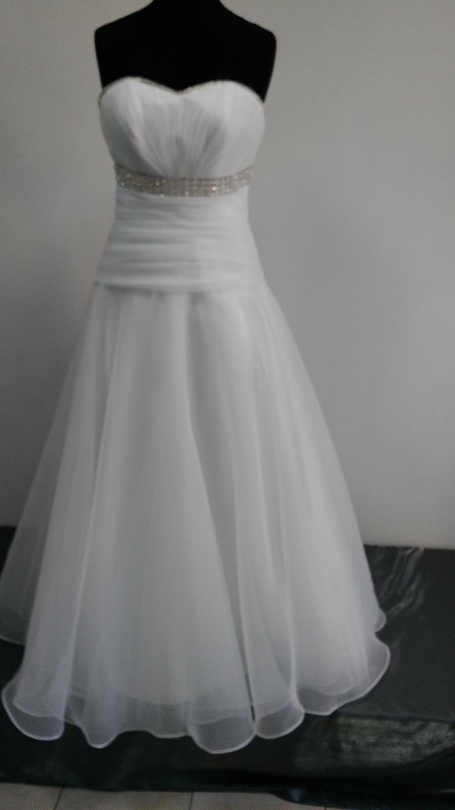 Svadobné šaty vhodné aj pre tehotnú 42  - Obrázok č. 1