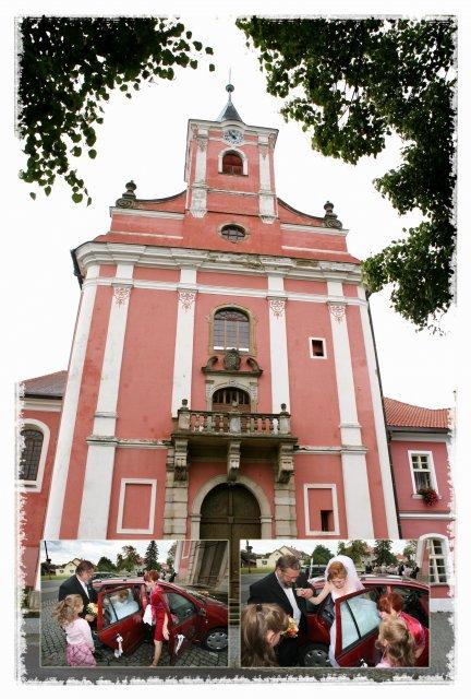 Petra{{_AND_}}Dominik - Kostel ve Štípě a příjezd nevěsty