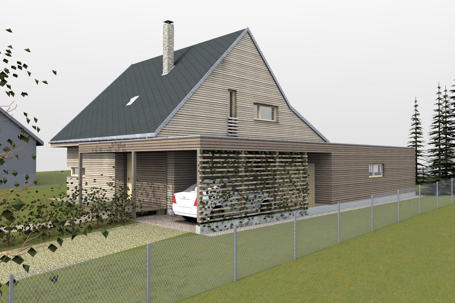 Náš nový domov - pasivní dřevostavba