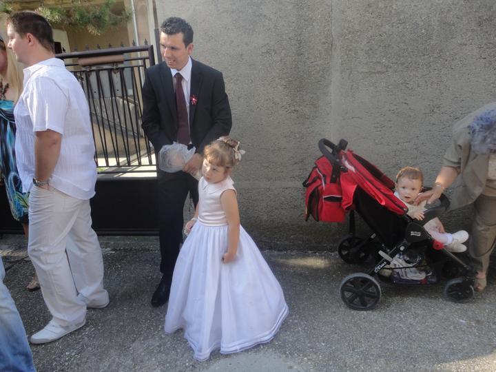 Mária Némethová{{_AND_}}Tomáš Németh - Môj najstarší brat s mojou prvou krstnou dcérou (princeznou)