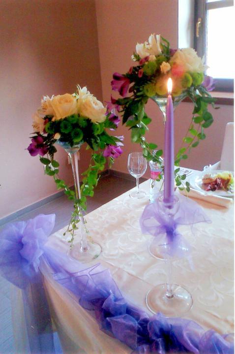 Nase pripravy alebo to co uz mame - hlavna vaza s kvetmi...