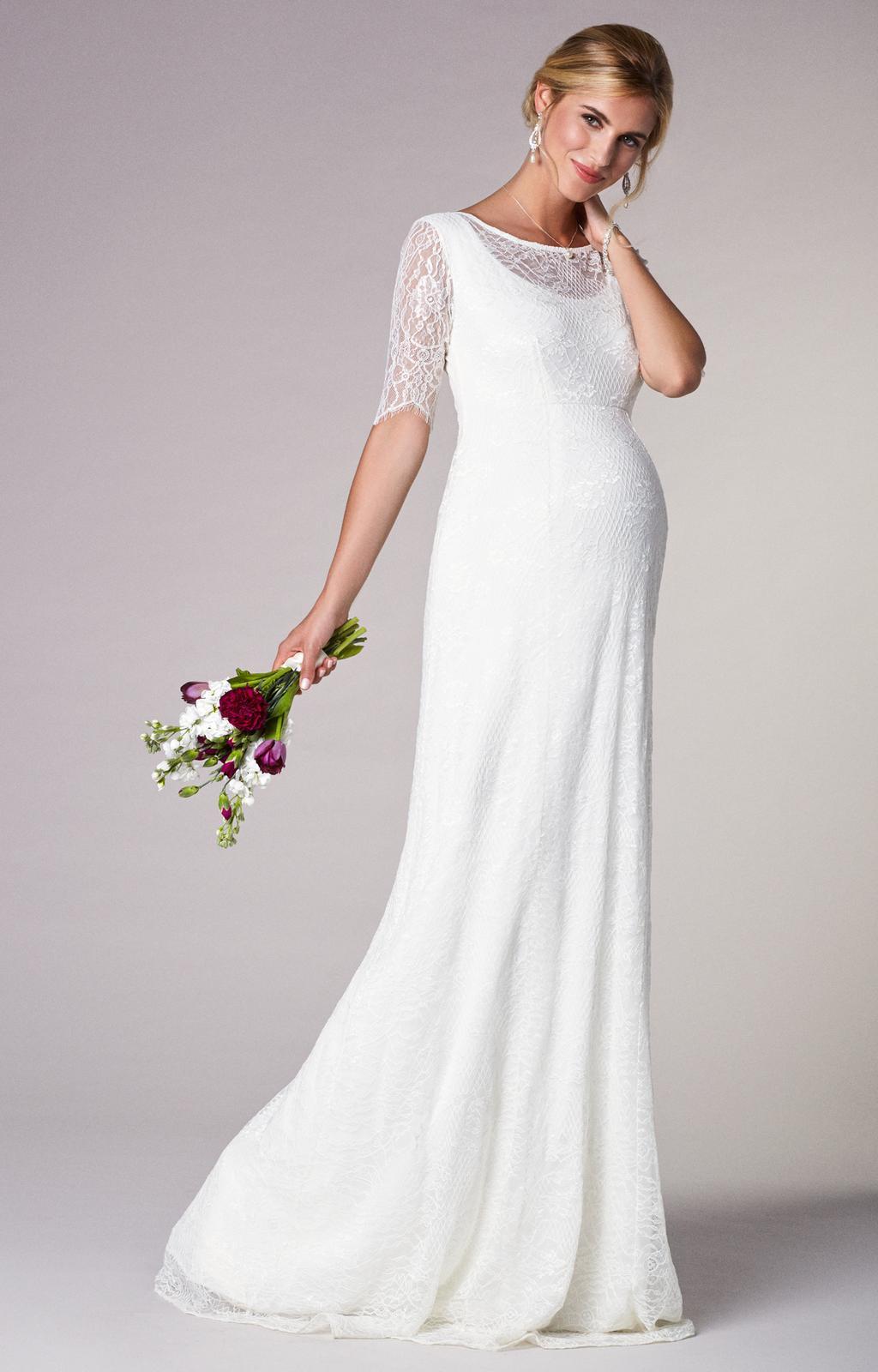 Těhotenské svatební šaty - Obrázek č. 5