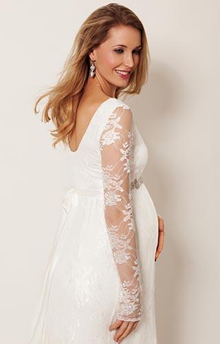 Těhotenské svatební šaty - Obrázek č. 6