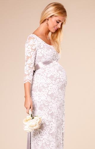 Těhotenské svatební šaty - Obrázek č. 7