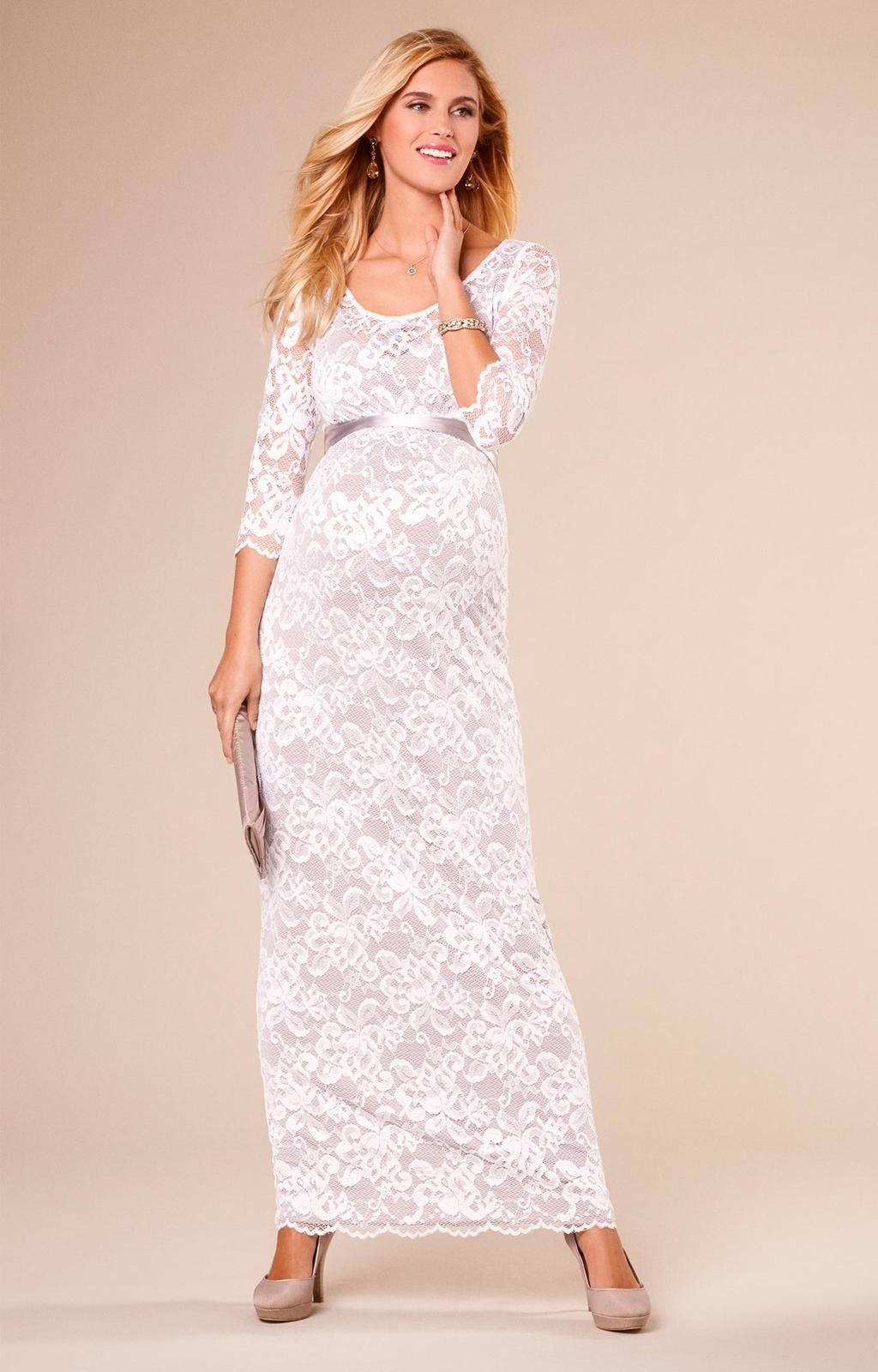 Těhotenské svatební šaty - Obrázek č. 8