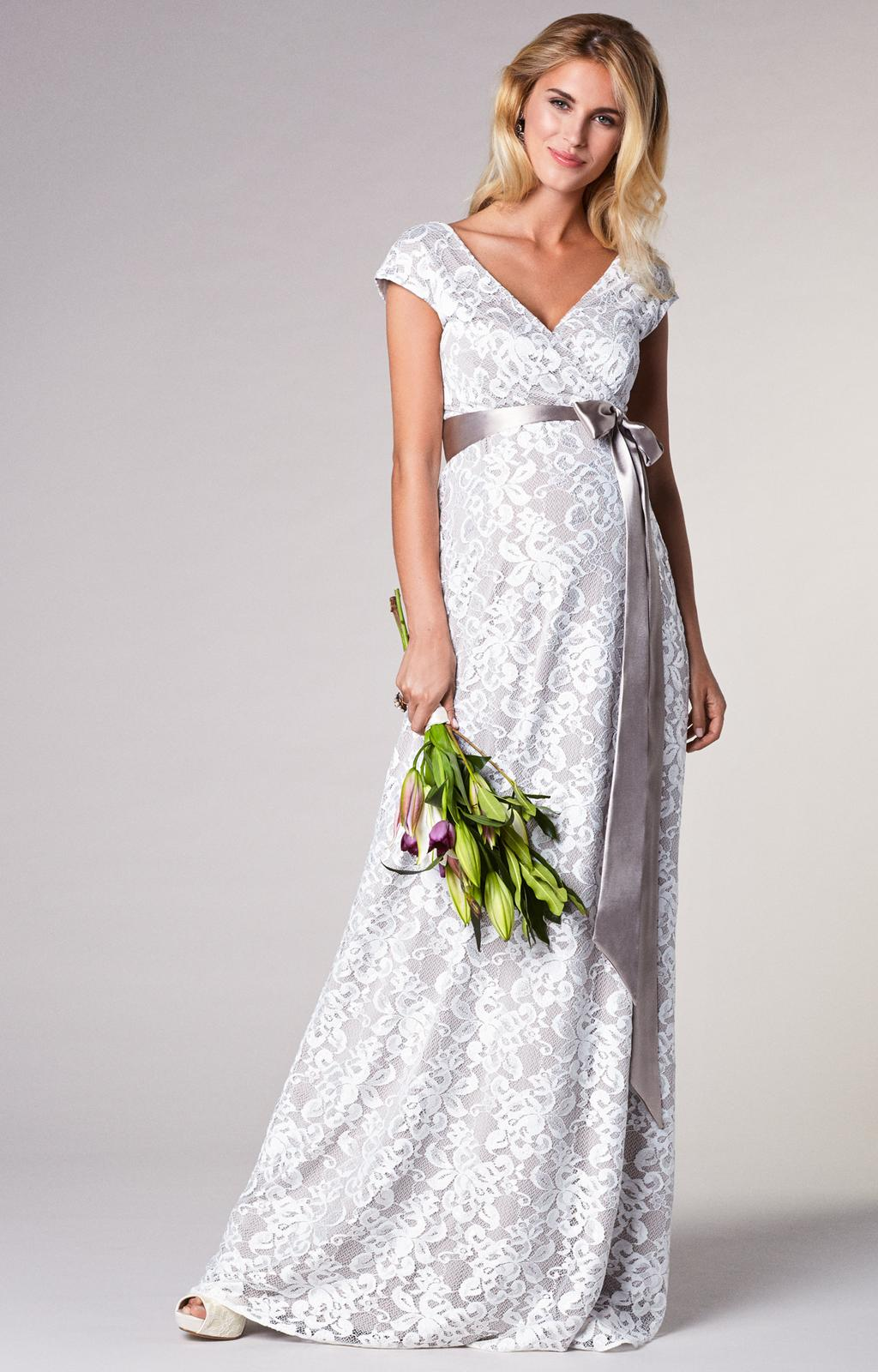 Těhotenské svatební šaty - Obrázek č. 9
