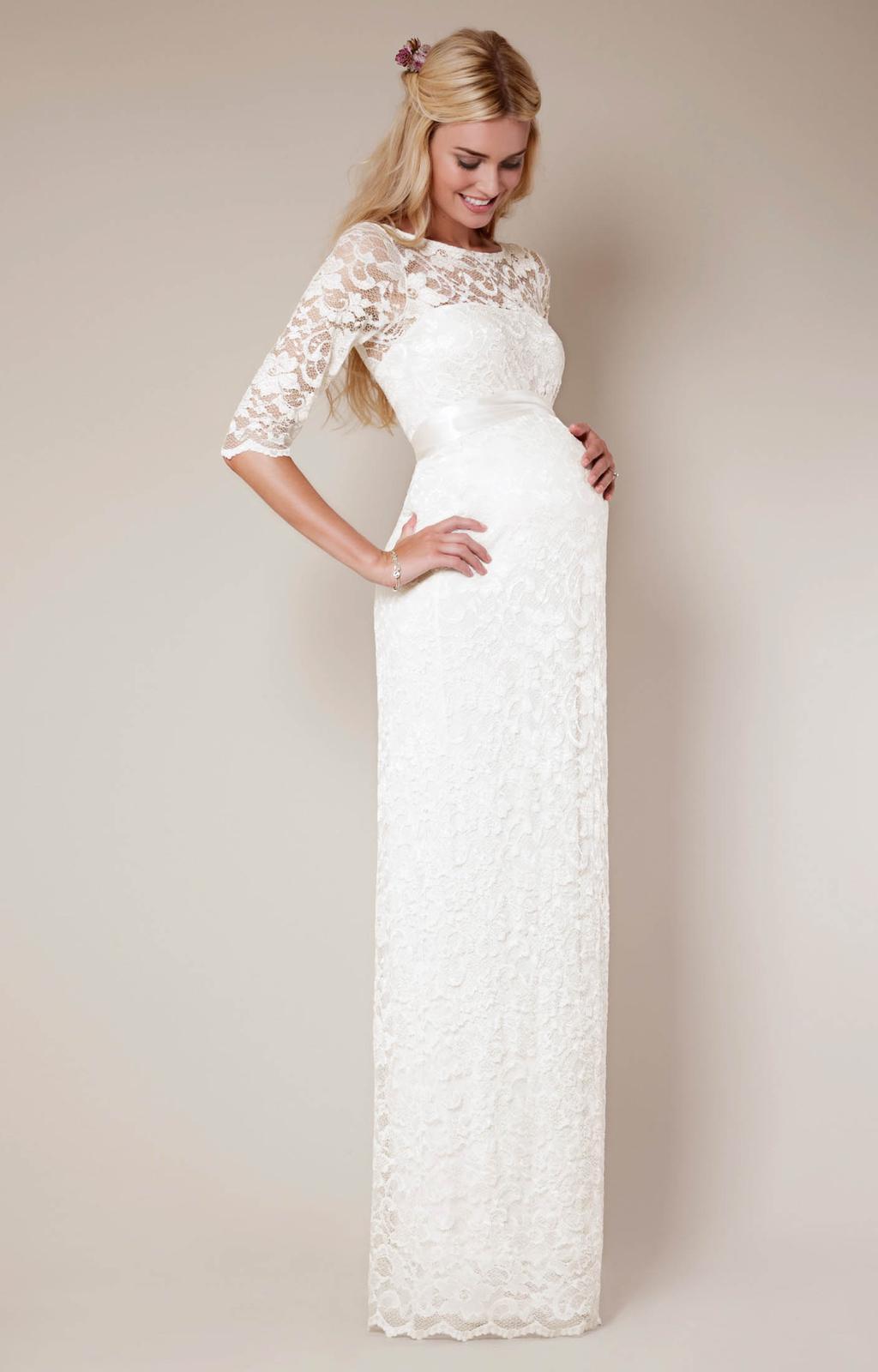 Těhotenské svatební šaty - Obrázek č. 11