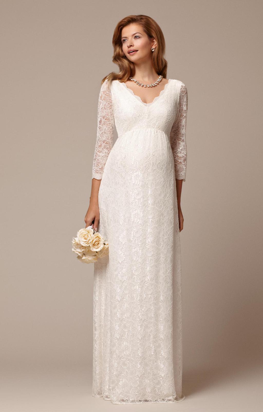 Těhotenské svatební šaty - Obrázek č. 12