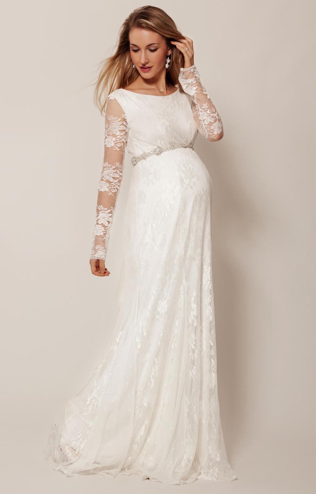 Těhotenské svatební šaty - Obrázek č. 13