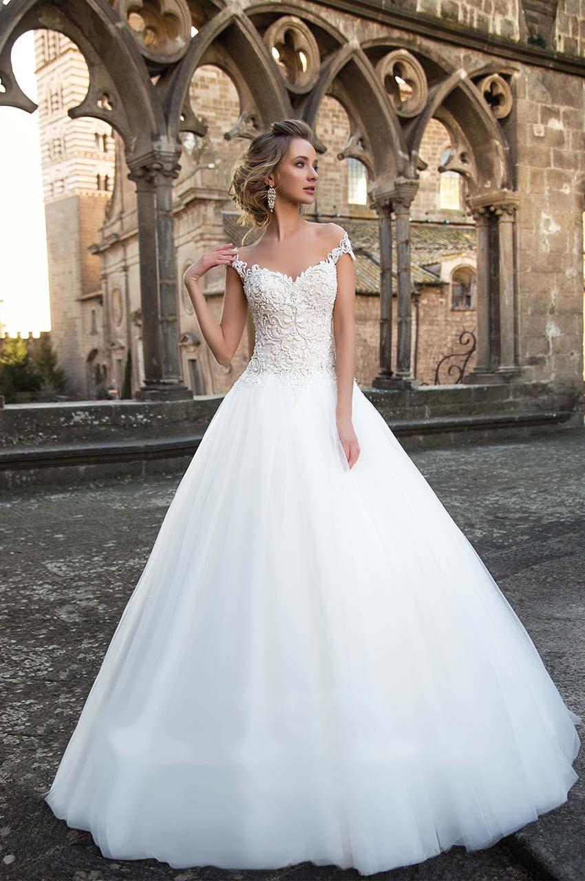 Sníte o sněhově bílých svatebních šatech? - Obrázek č. 5