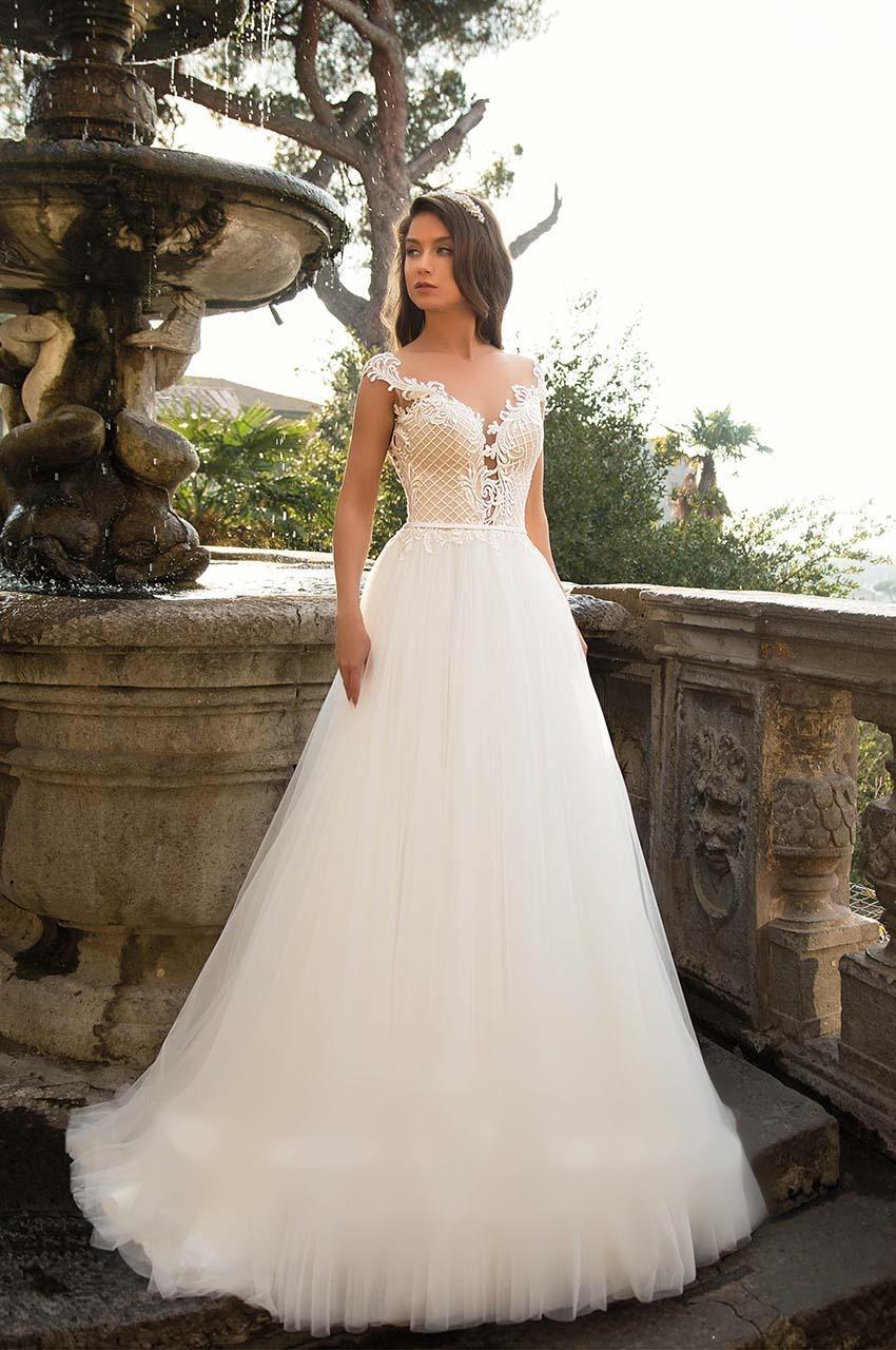 Sníte o sněhově bílých svatebních šatech? - Obrázek č. 8