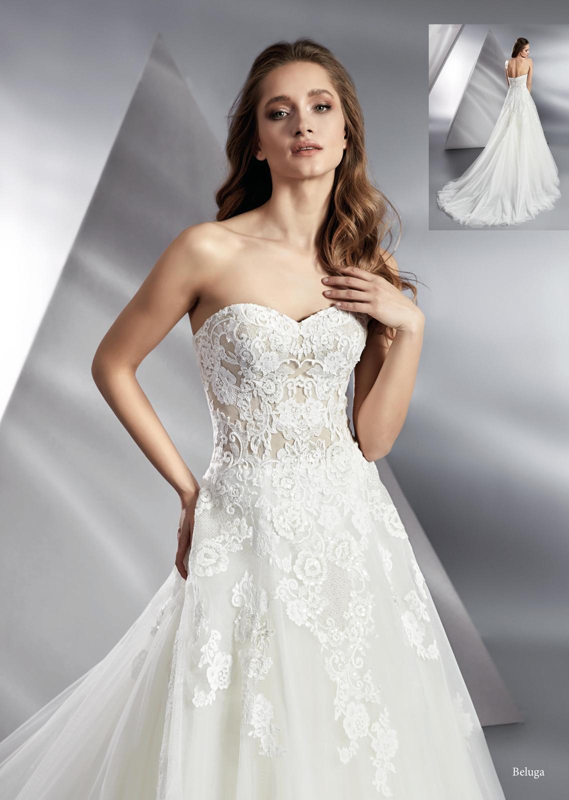 Svatební šaty Beluga - Obrázek č. 1