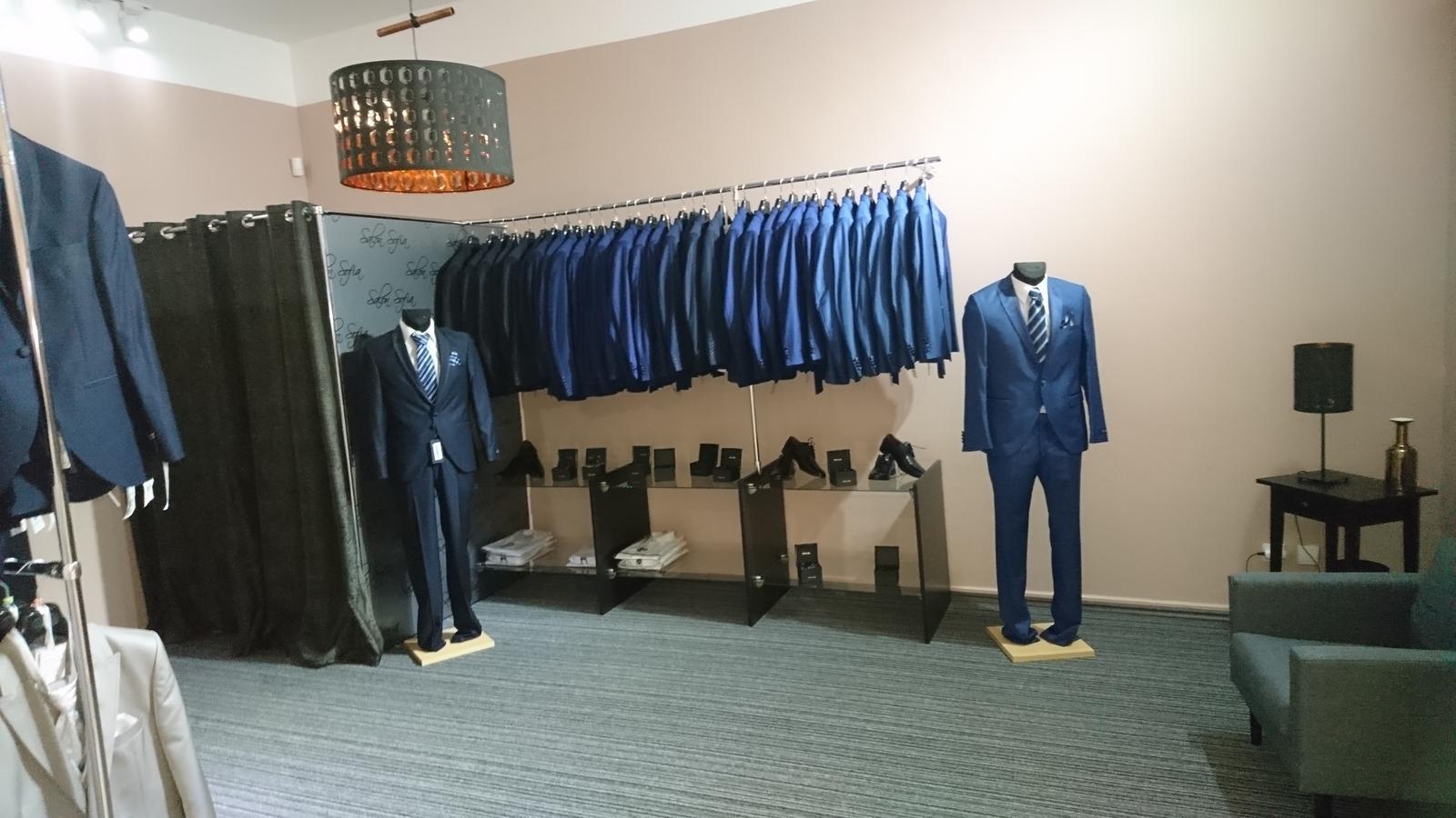 Výprodej pánských obleků! Ceny od 1500,- do 4990,- - Obrázek č. 1