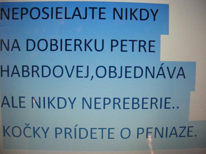 POZOR KOČKY,PRÍDETE O PENIAZE. - Obrázok č. 1
