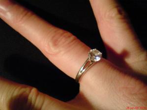 moj zásnubný prstienok