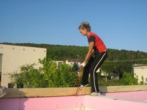 hore na streche- muklujeme vsetci :-))