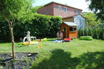 Zahrada v akci :-)