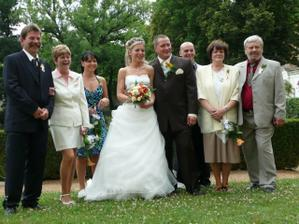 S rodiči a svědky...