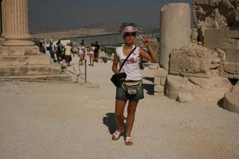 a to už je naše nádherná svatební cesta(Řecko Acropolis)