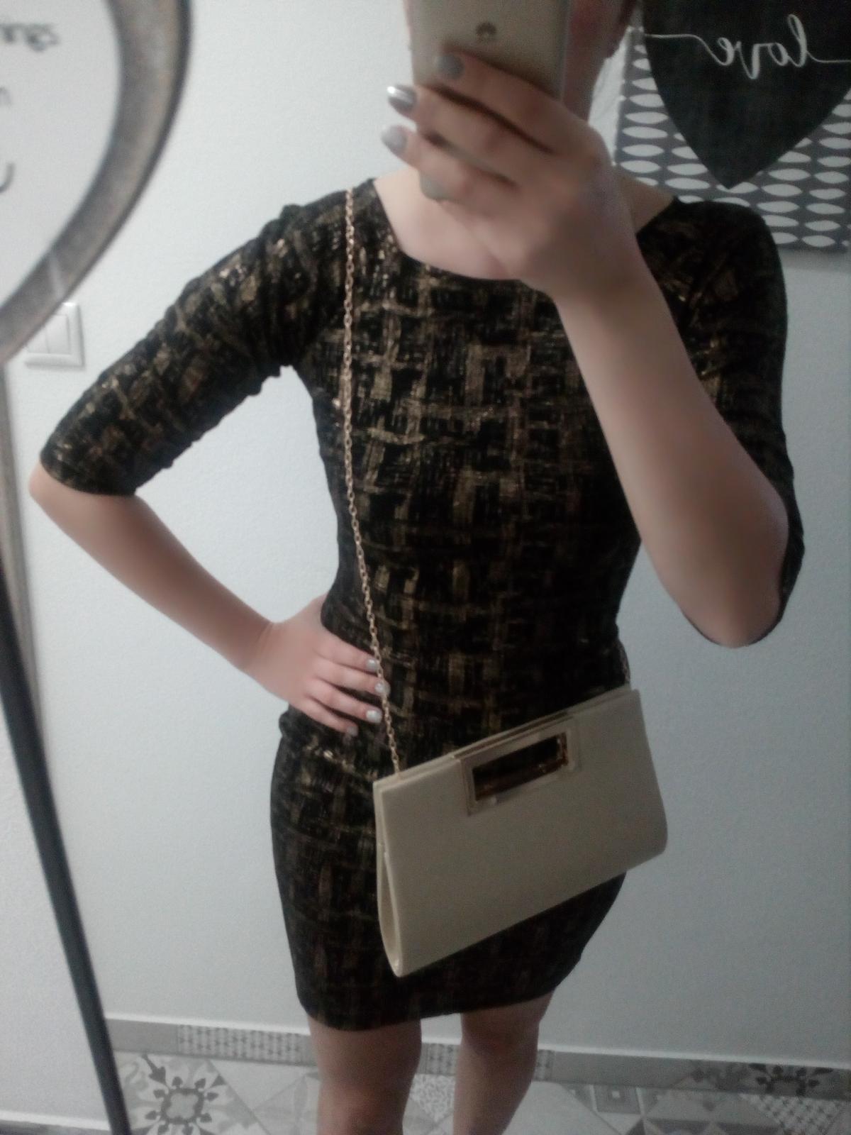 Zara koktejlové šaty - Obrázok č. 1