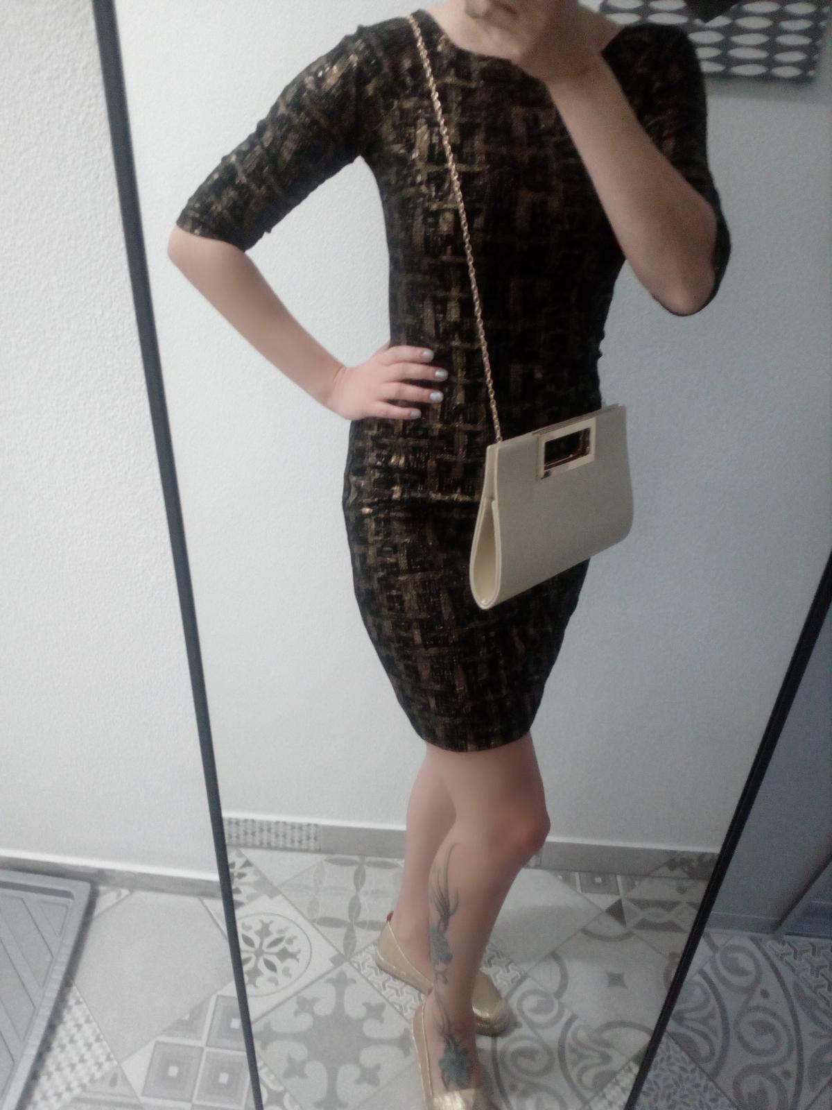 Zara koktejlové šaty - Obrázok č. 3
