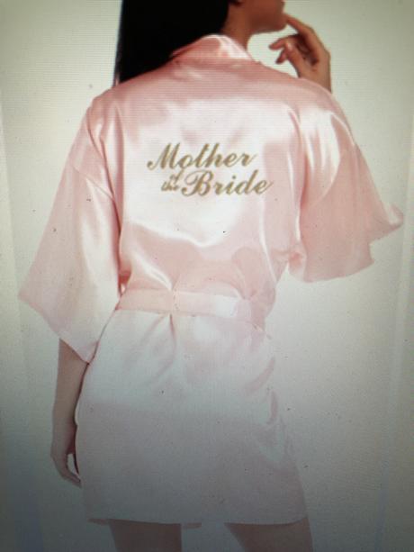 Župan pre svadobnú mamu S-XXL - Obrázok č. 2