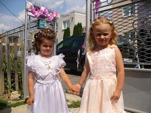 Mini družičky Veronika a Natálka