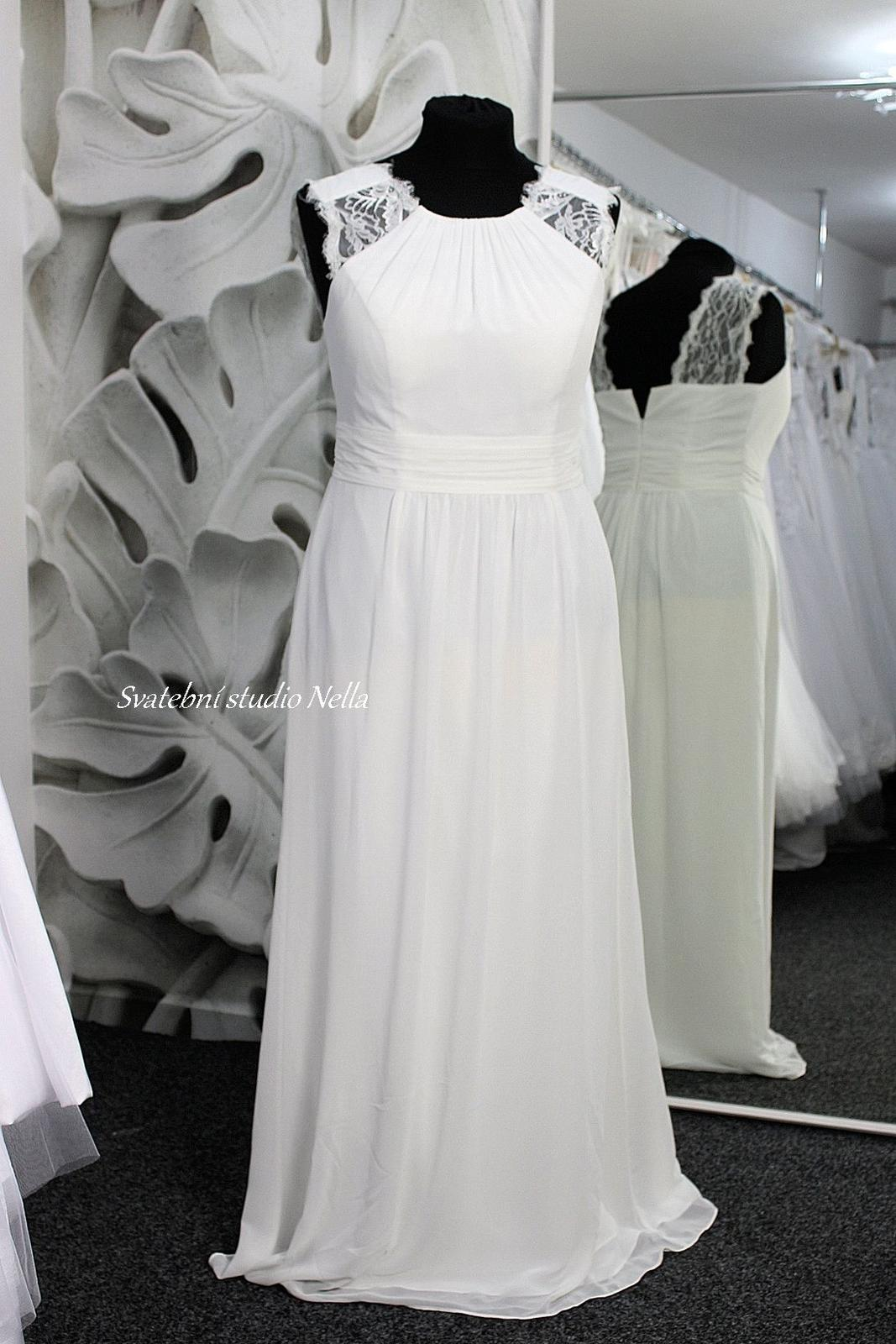 Svatební šaty styl BOHO - Svatební šaty boho  www.svatebninella.cz
