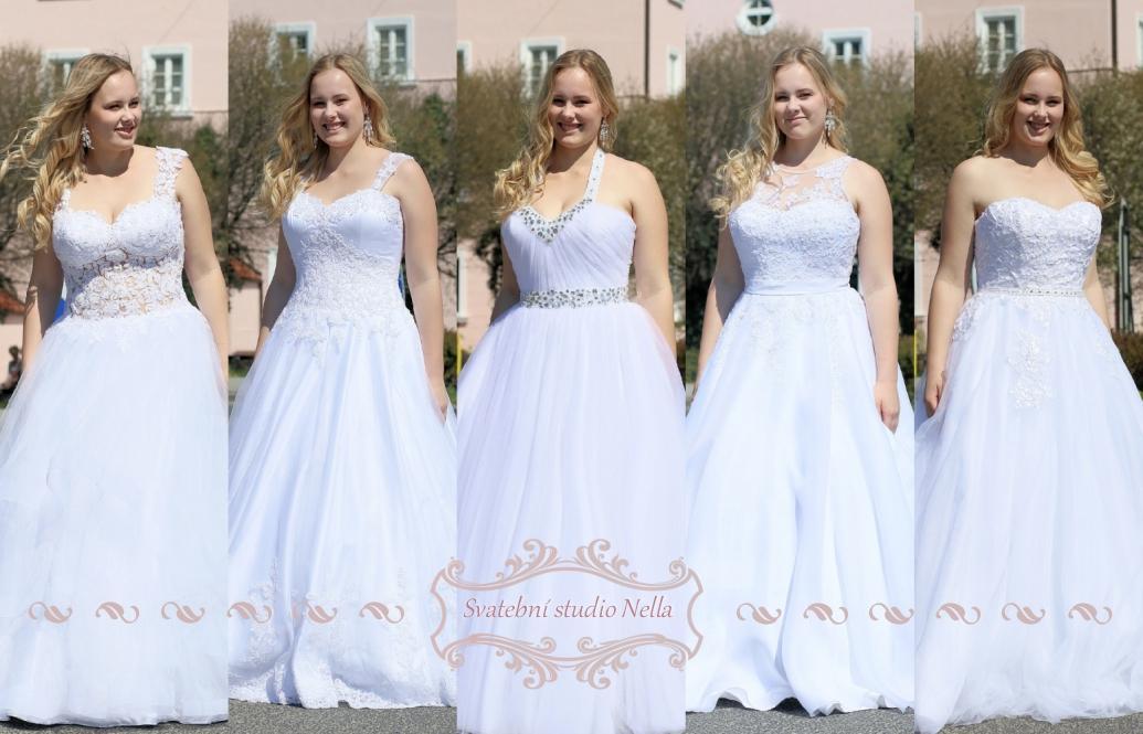 Svatební šaty - kolekce 2019 - Obrázek č. 48