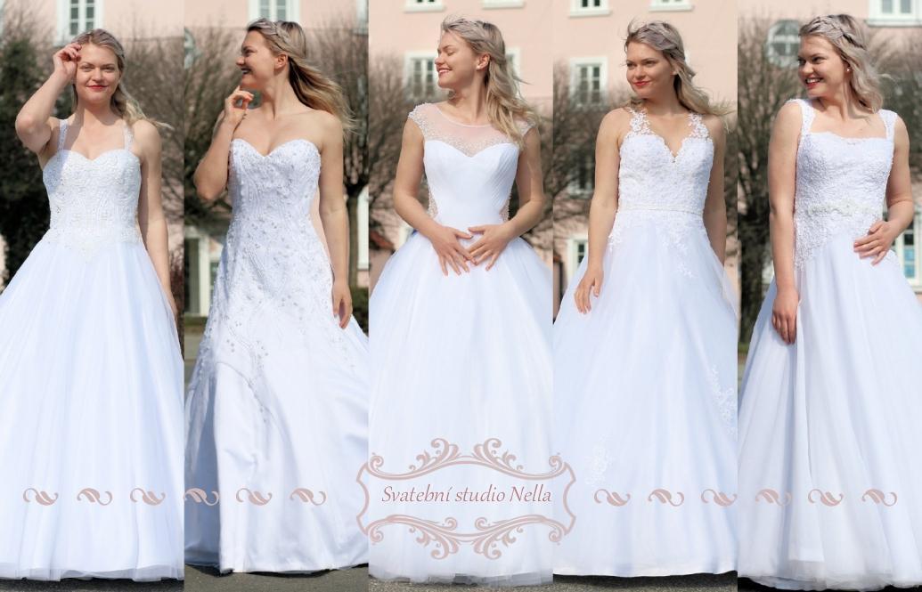 Svatební šaty - kolekce 2019 - Obrázek č. 52