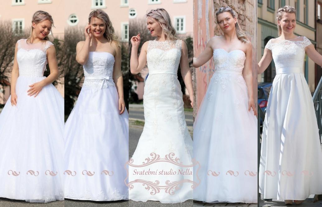 Svatební šaty - kolekce 2019 - Obrázek č. 53