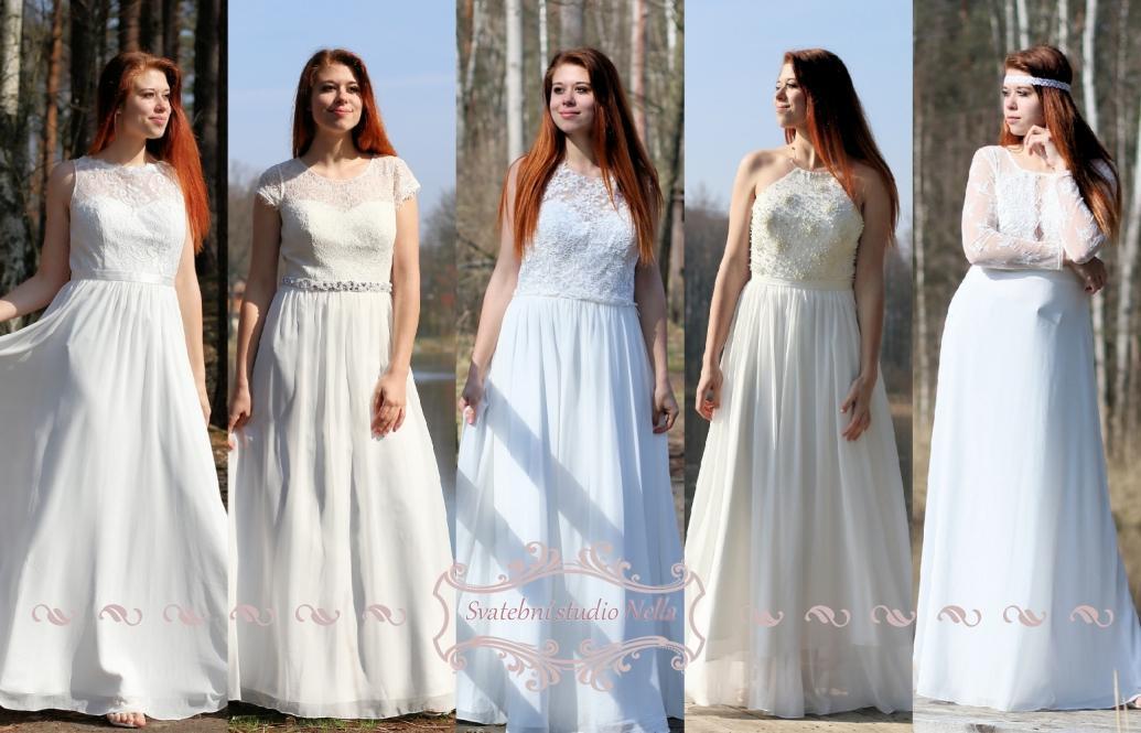 Svatební šaty - kolekce 2019 - Obrázek č. 59