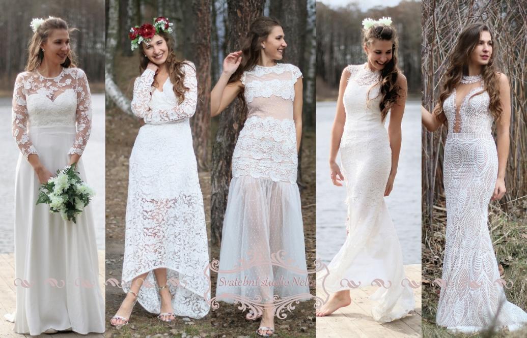 Svatební šaty - kolekce 2019 - Obrázek č. 63