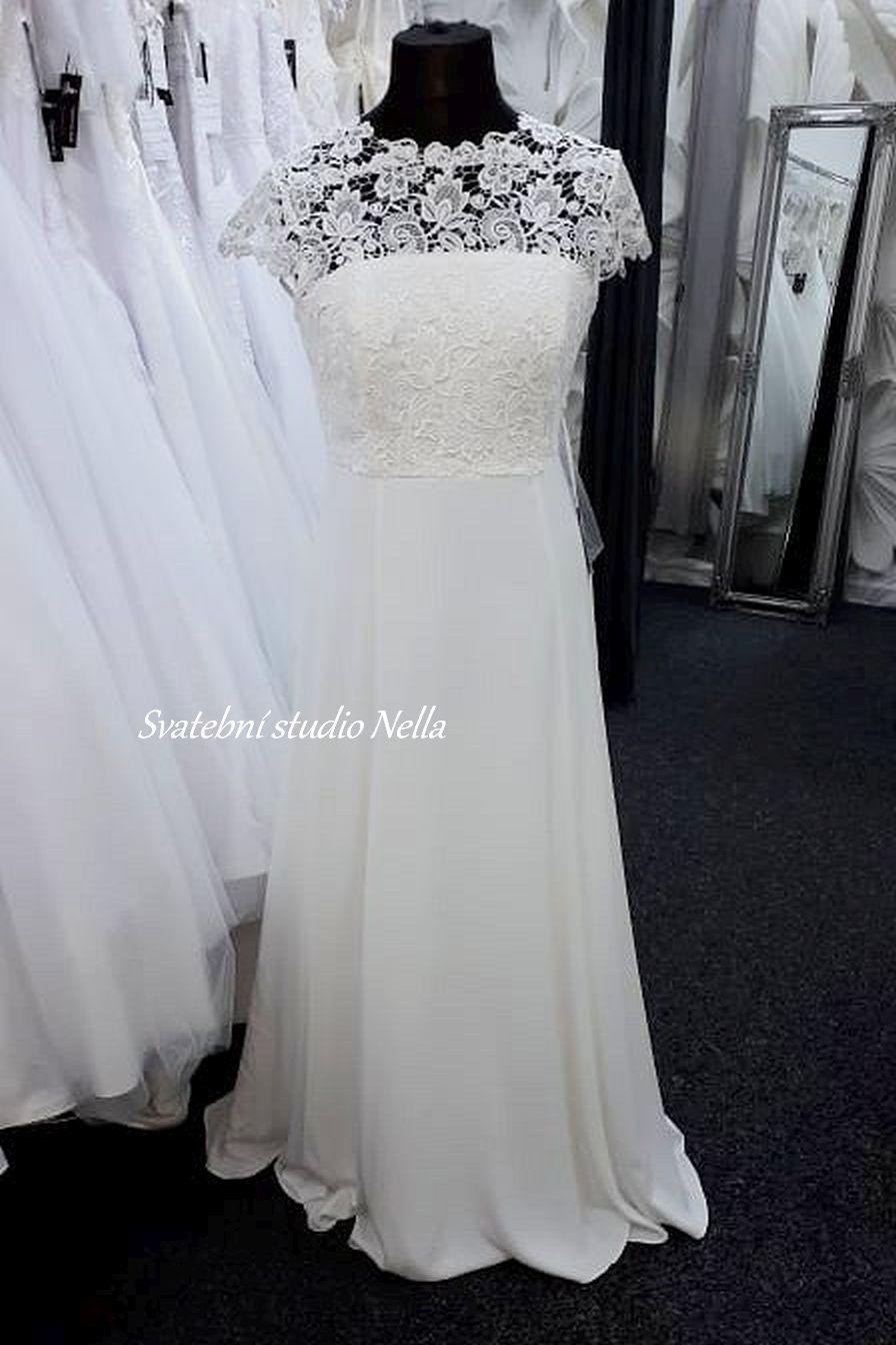 Svatební šaty v boho stylu pro venkovní svatby - Obrázek č. 16