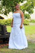 Svatební šaty XL N21, 44