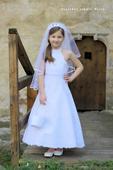 Dětské šaty 122/128- půjčovné , 122