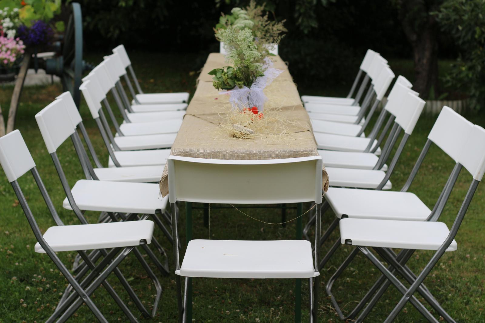 Skládací židle - pronájem - Obrázek č. 3